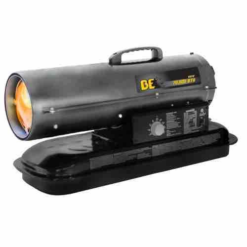 BE Pressure 70,000 BTU Kerosene/Diesel Forced Air Heater